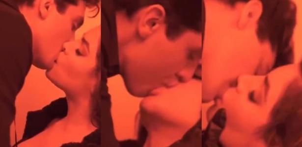 luan santana e gkay no clipe morena 1623892156935 v2 615x300 - Luan Santana e Gkay protagonizam beijão em novo teaser do clipe de 'Morena' - VEJA VÍDEO