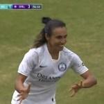 marta orlando - Marta faz gol do meio-campo em jogo nos Estados Unidos; assista lance