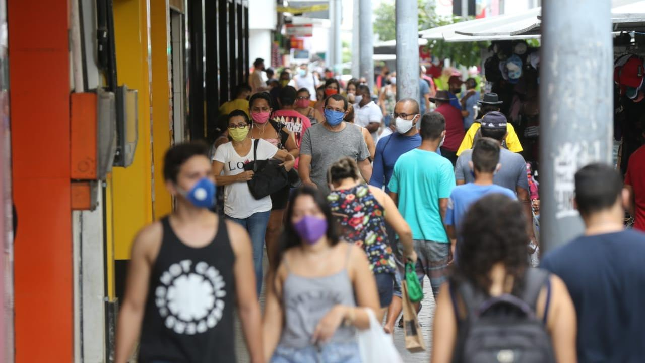 movimentacao primeiro sabado de funcioanmento centro - Feriado de Corpus Christi: comércio e serviços de saúde funcionam normalmente em João Pessoa, bancos fecham