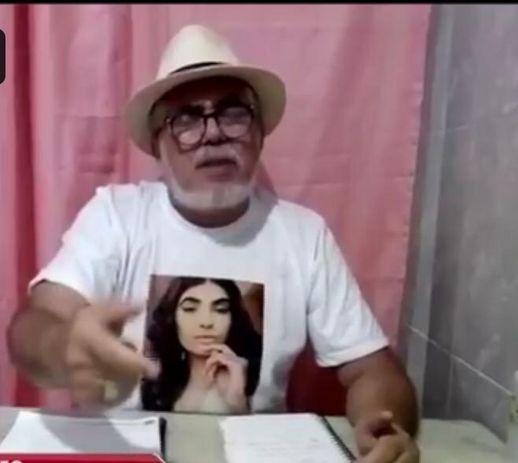 pai patricia roberta - CASO PATRÍCIA ROBERTA: após laudo que comprova que jovem foi assassinada por asfixia, família pede condenação de Jonathan Henrique principal suspeito