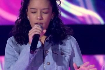 Paraibana Clara Dantas vira todas as cadeiras no The Voice Kids – VEJA VÍDEO