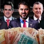 senadores cpi - A TROPA DE CHOQUE: Levantamento revela que Bolsonaro já pagou 660 milhões de reais em recursos para senadores que lhe defendem na CPI