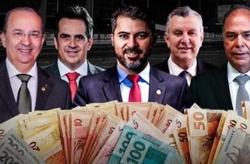 A TROPA DE CHOQUE: Levantamento revela que Bolsonaro já pagou 660 milhões de reais em recursos para senadores que lhe defendem na CPI
