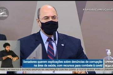 ASSISTA AO VIVO: Ex-governador do RJ, Wilson Witzel depõe à CPI da Pandemia