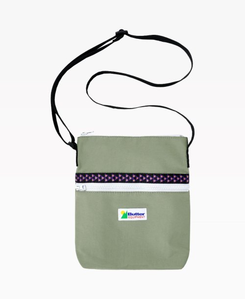 Butter Goods Equipment Khaki Bag Front