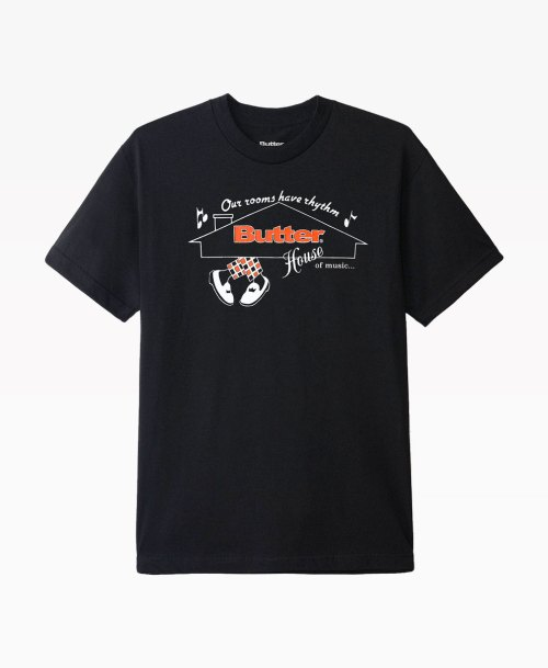 Butter Goods House Of Music Tee Front