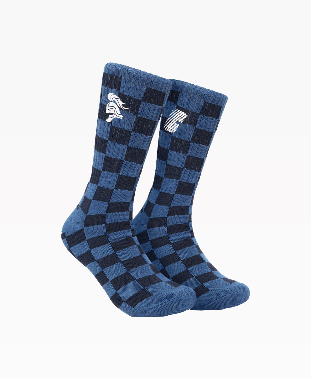 Chrystie Swfc 10th Anniversary Socks : Away Color