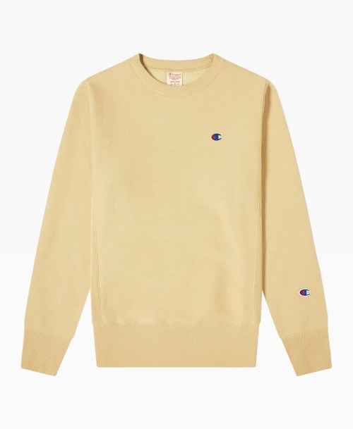 Champion Reverse Weave Classic Crew Sweat Front
