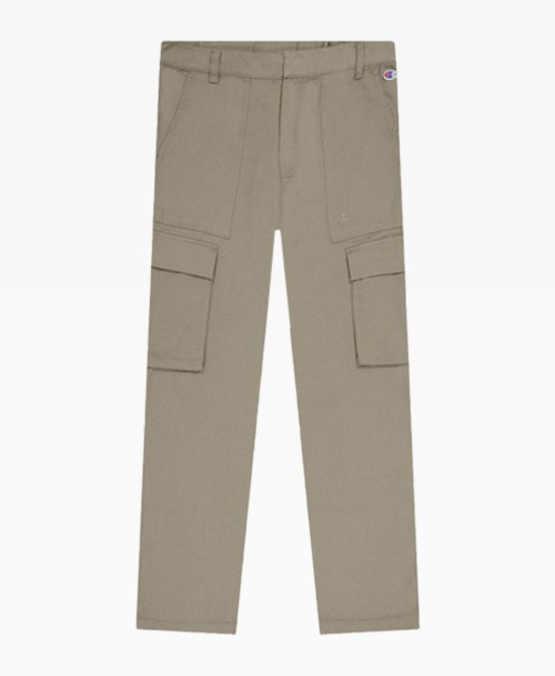 Champion Weave Utility Trousers Camel Front