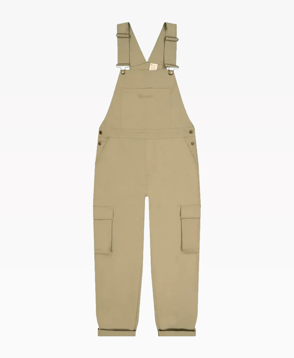 Champion Woven Utility Dungarees Beige Front