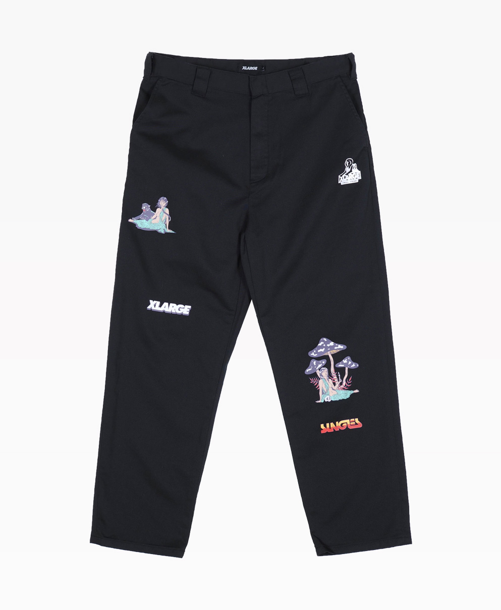 Jungles X Xlarge 91 Workwear Pants Front