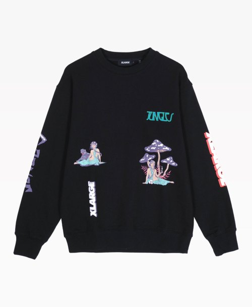 Jungles X Xlarge Relaxed Woman Crewneck Front