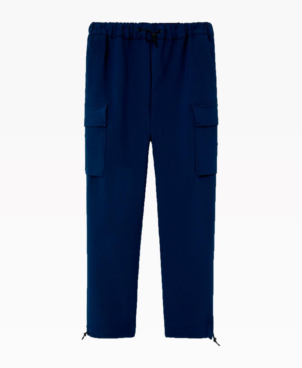 Loreak Mendian Mugi Pants Navy Blue Front