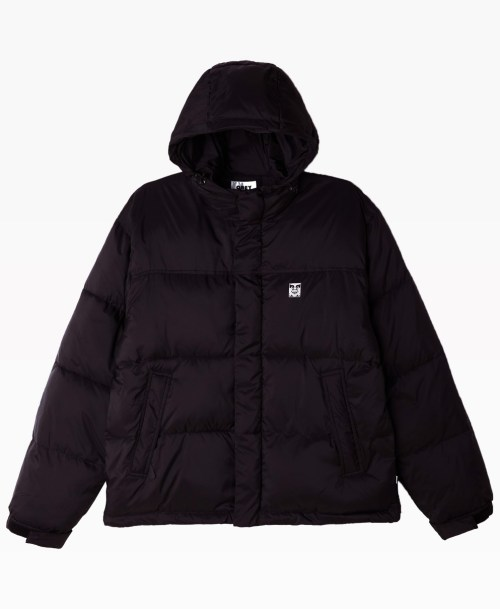 Obey Clothing Fellowship Puffer Jacket Front