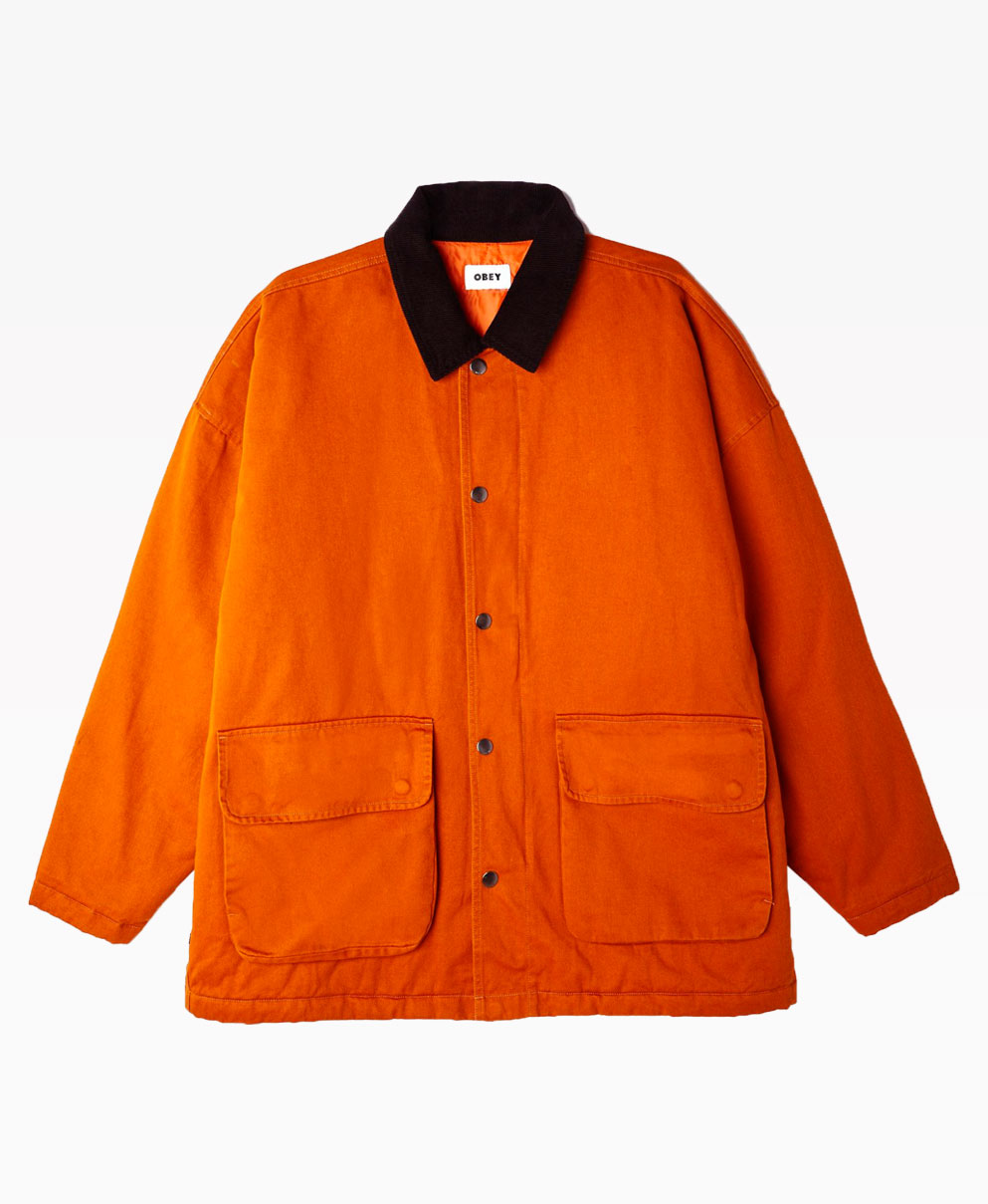 Obey Clothing Hunting Jacket Front