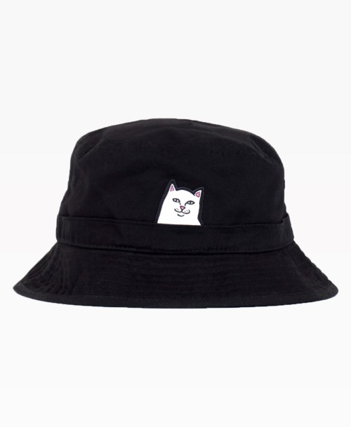 Ripndip Lord Nermal Bucket Hat Black Front