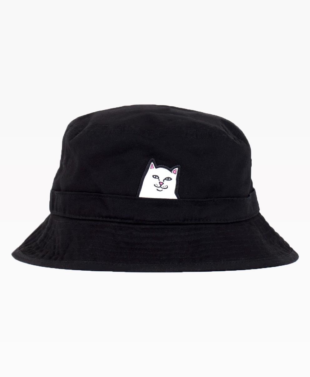 Ripndip Lord Nermal Bucket Hat Black Front
