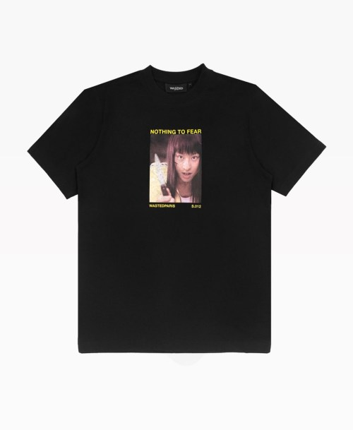 Wasted Another World Tee Black Front
