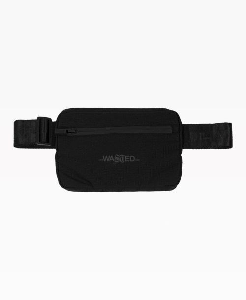 Wasted Sport Belt Bag Black Front