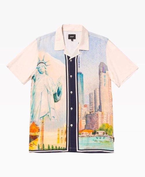 Huf Prestige Ss Resrot Shirt Front