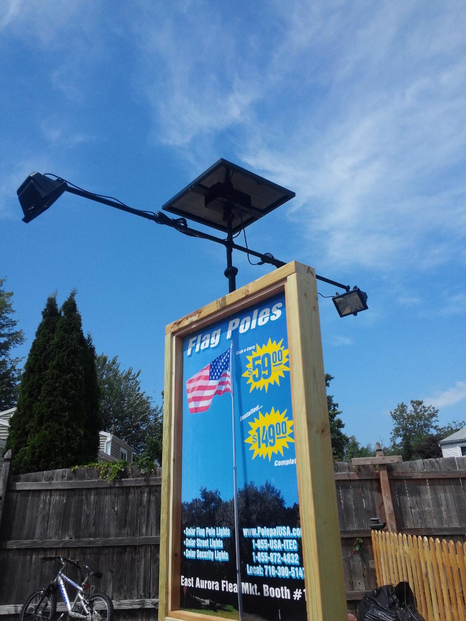 Led Flagpole Lights