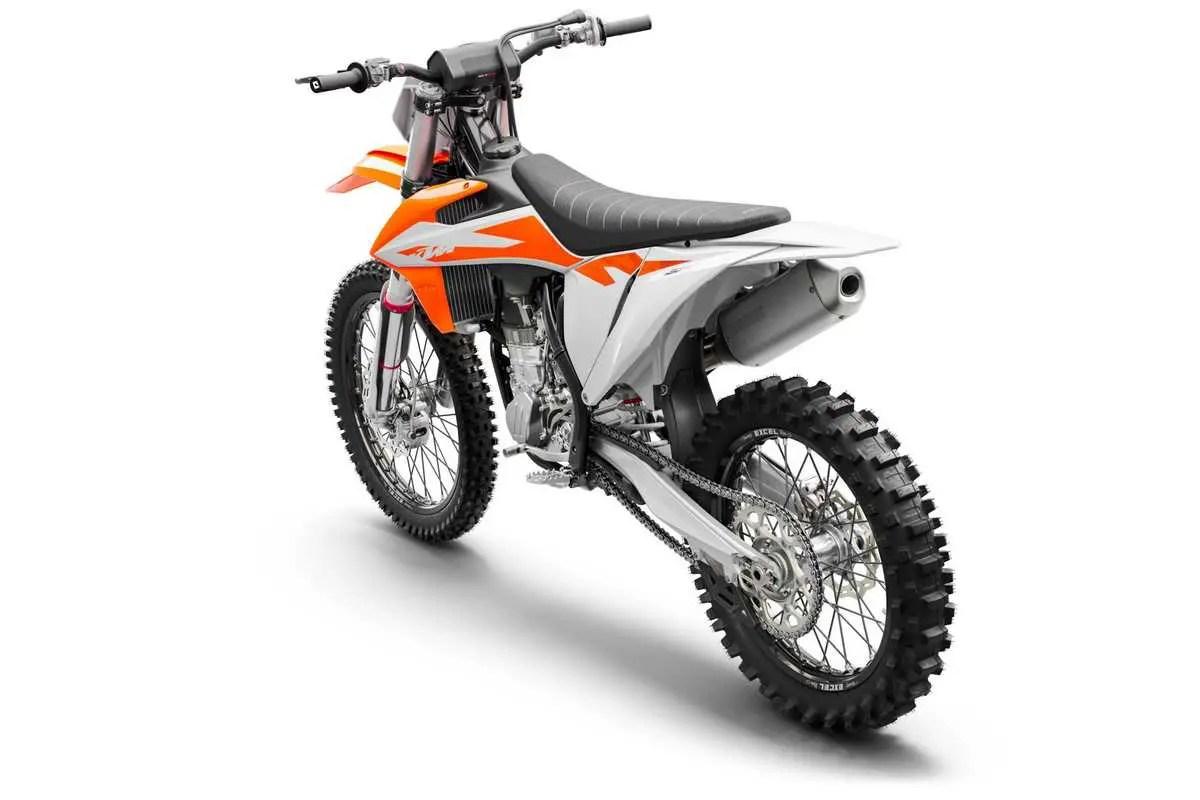 arriere moto 450 SX-F