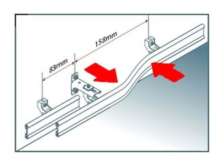 swish deluxe curtain track fitting instructions