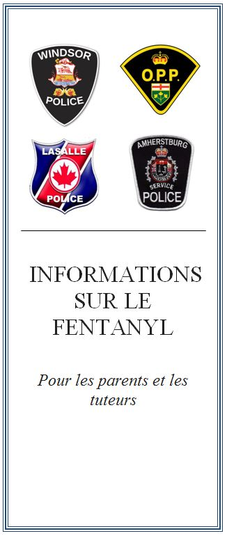 Fentanyl Information for Parents and Caregivers