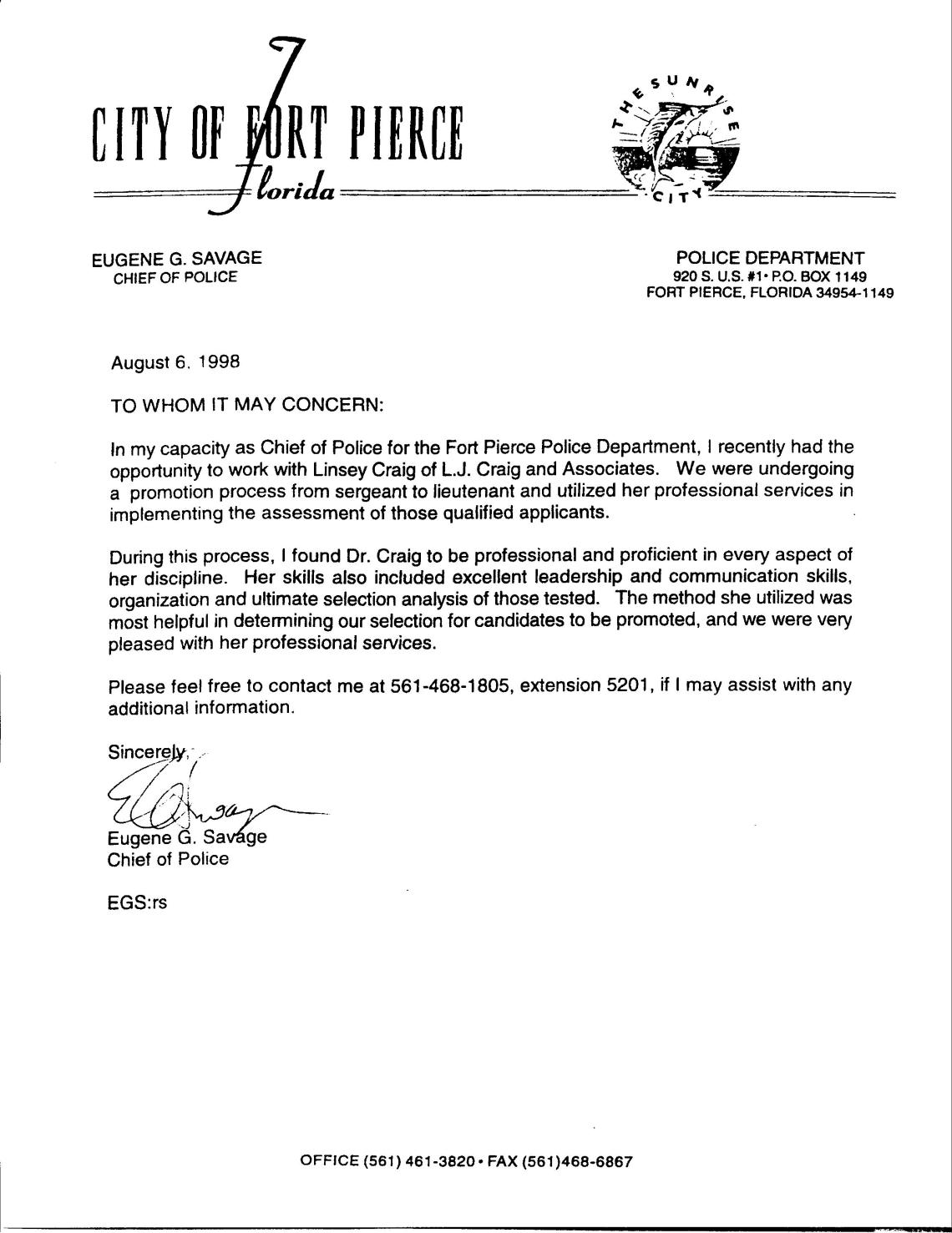 reference letter for police officer job application Chief fire officer certification application packet approved july 12, 2012 revised june 12 officers as described in the maine fire chief's association by-laws each candidate must submit a letter of recommendation for certification from their supervisor.
