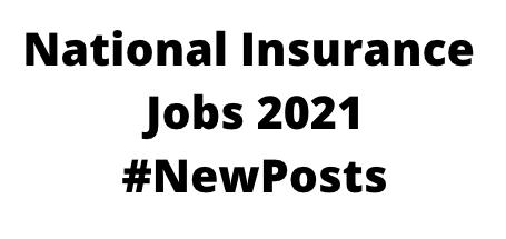 National InsuranceJobs 2021