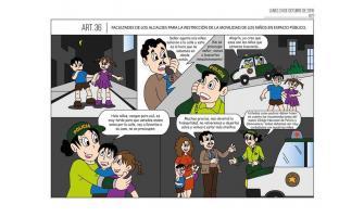 Facultades de los Alcaldes para la restricción de la movilidad de los niños en espacio público