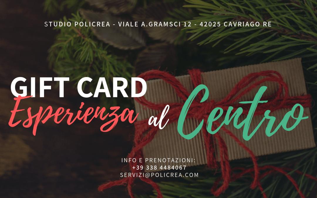 Scopri in anteprima le gift card e i voucher Policrea!