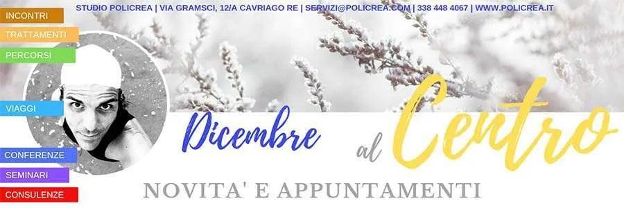 Incontri & Novità Dicembre 2019