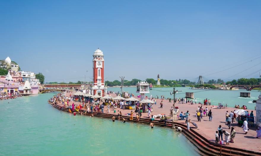 Haridwar Ganga river front