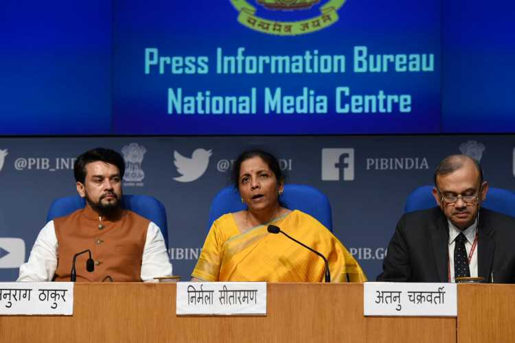 Nirmala Sitharaman post-budget press meet