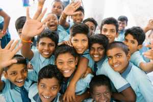 A large number of Indian children face extreme poverty