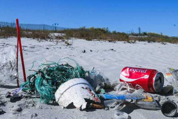 Marine plastic pollution is a major threat to the planet.