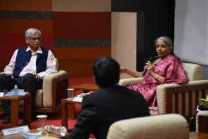 Nirmala Sitharaman on Indian economy and Budget 2021