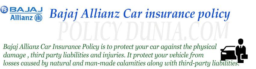 bajaj-Allianz-car-insurance