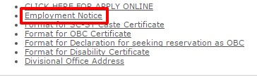 LIC INDIA employment option