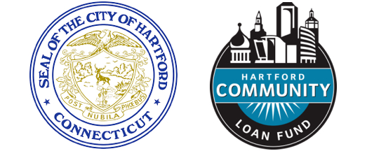 City of Hartford and Hartford Community Loan Fund Logos