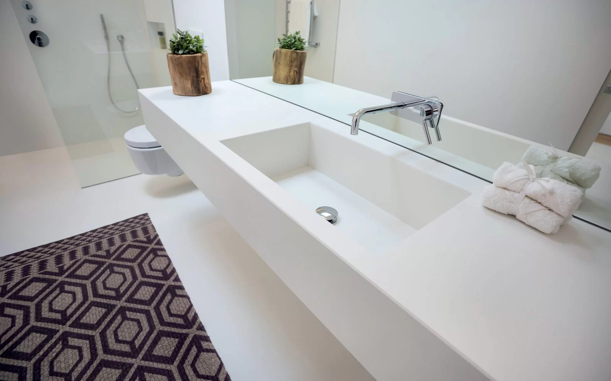 neolith-colorfeel-arctic-white-floating-vanity-countertop-silk-finish