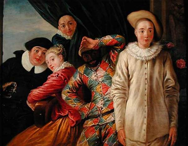 Arlecchino-Pierrot-e-Scapino-Jean-Antoine-Watteau