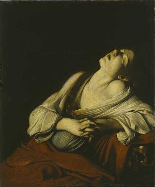 Maddalena in estasi del Caravaggio ermitage_caravaggio