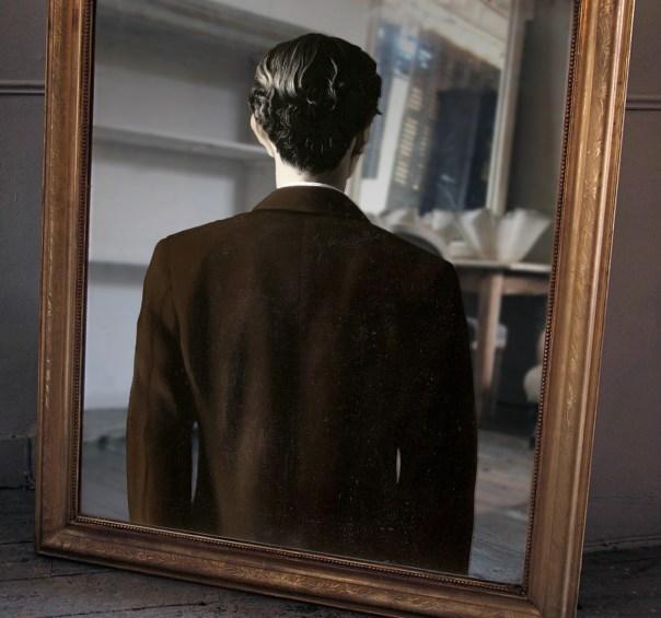 specchio-riflesso-magritte per Mannacio