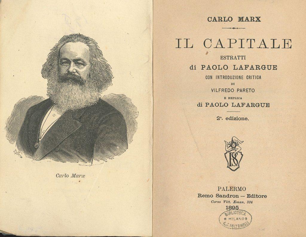 Marx Nostro Contemporaneo Poliscritture