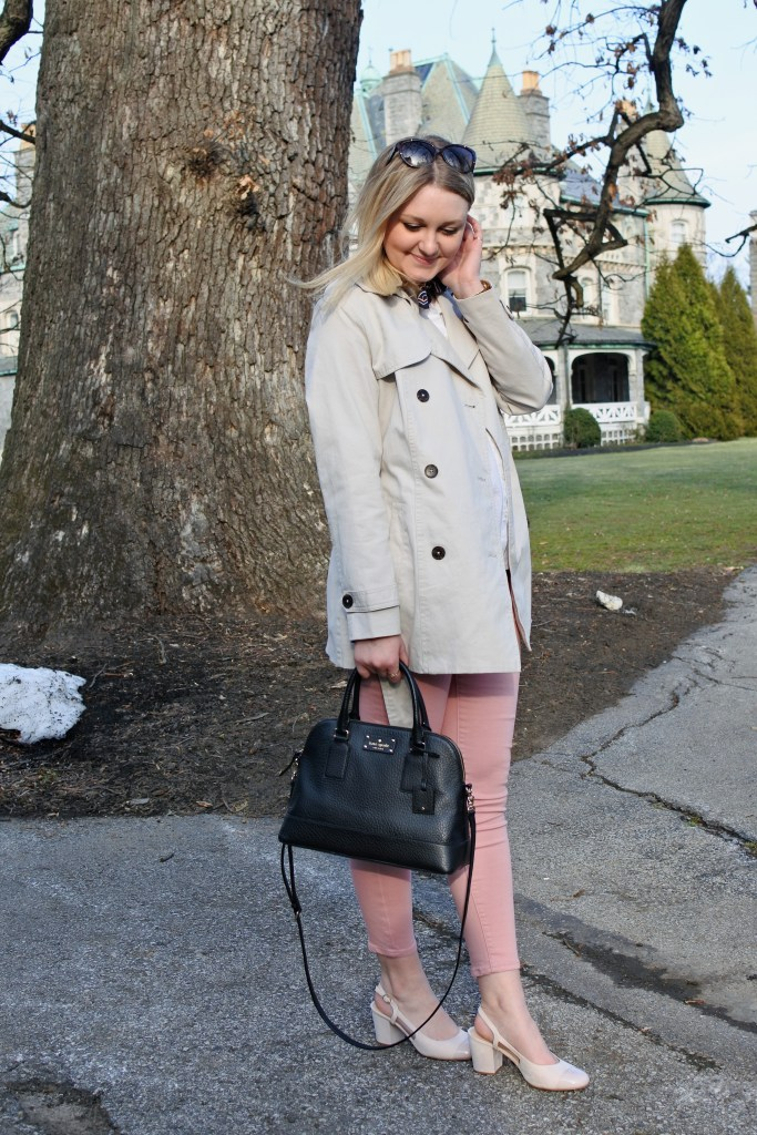 Spring Trench Coat | Polished & Pink