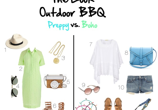 The Look // Outdoor BBQ