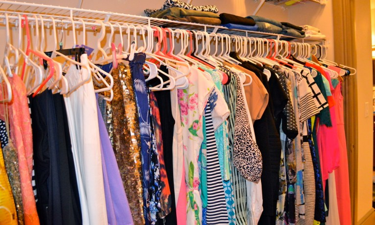 Closet Organization with Dress Your Guests