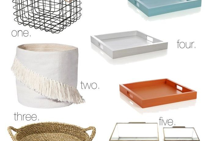 Tidy Tuesday: Chic Storage Solutions